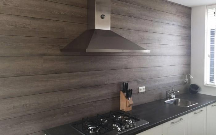 Wanddecoratie PVC wandpanelen keuken