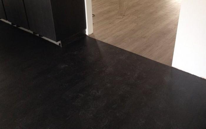 PVC vloer steeneffect houteffect